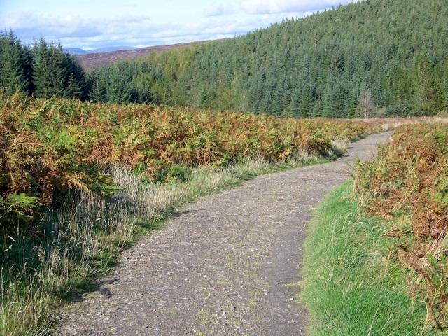 Path to Schiehallion