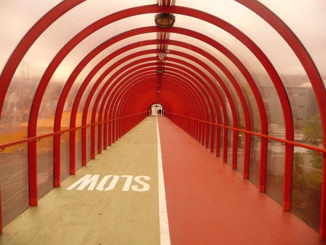 Glasgow: Exhibition Centre walkway