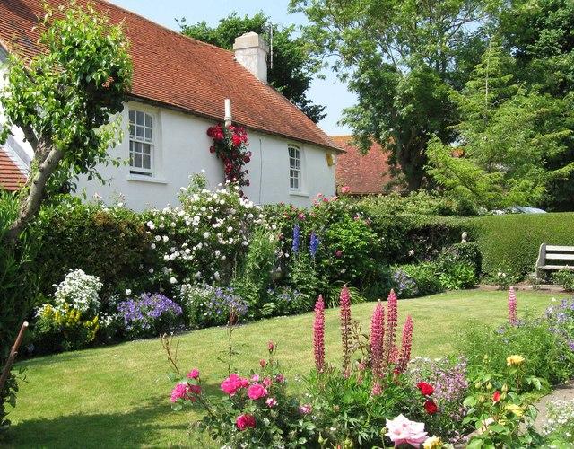 Cottage garden at Piddinghoe