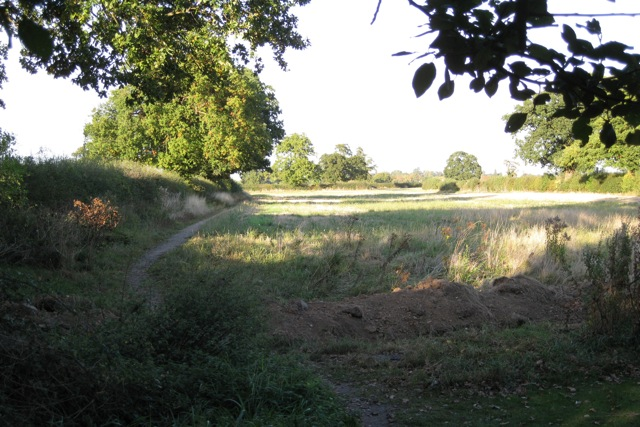 Field at the end of Guy's Cliffe Avenue, Leamington Spa