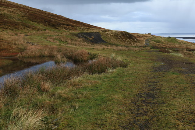 Track junction on Wee Fea, Hoy
