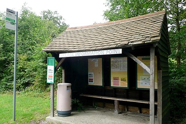 Hamstead Marshall bus shelter
