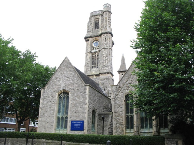 The Parish Church of St. Martin, Gospel Oak