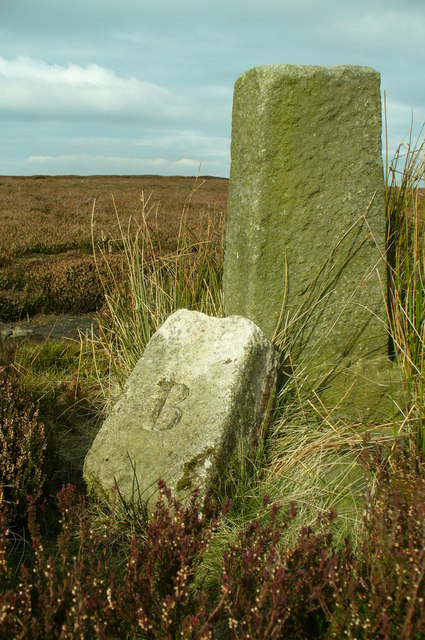 Boundary Stone on Beamsley Moor