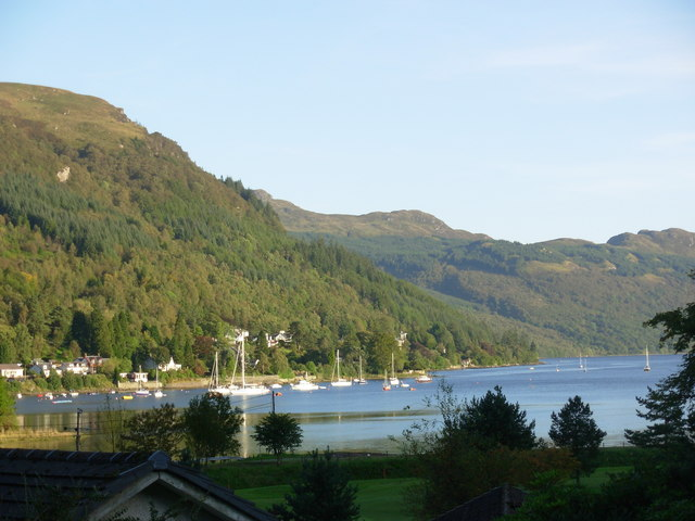 At the head of Loch Goil