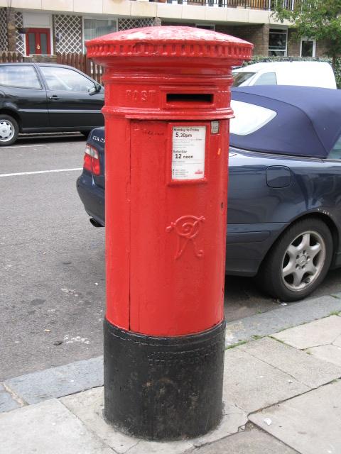 Victorian postbox, Malden Road / Rhyl Street, NW5