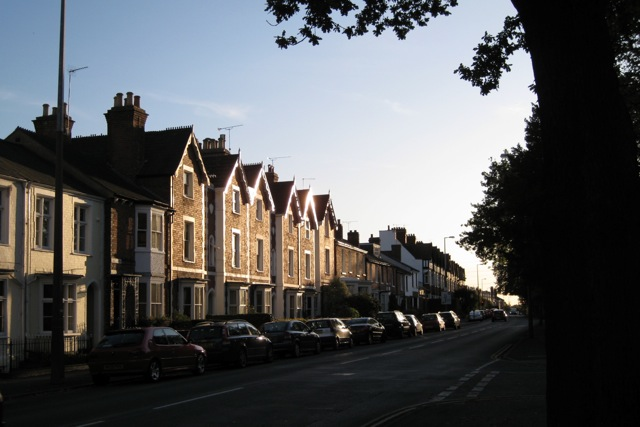House types, Rugby Road, Leamington Spa