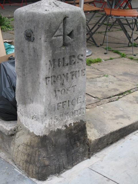 Milestone, Haverstock Hill. NW3