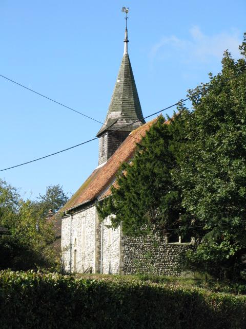 A view of All Saint's church, Chillenden