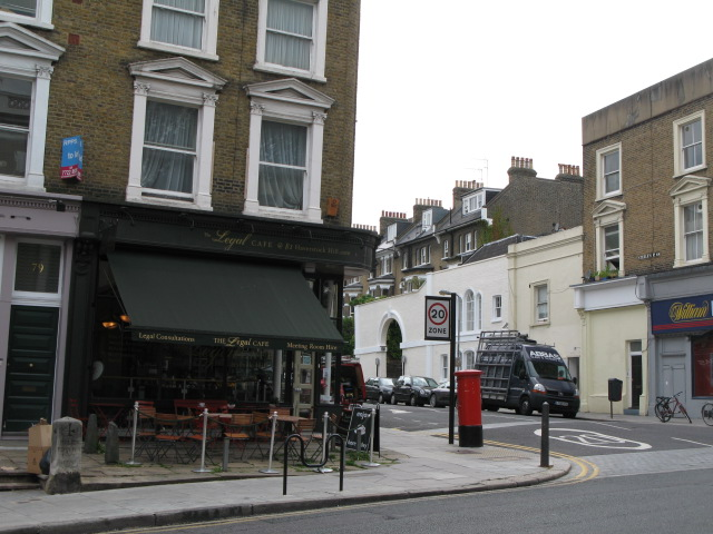 The Legal Café, 81 Haverstock Hill, NW3