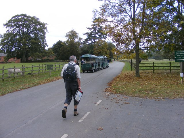 Shugborough Train