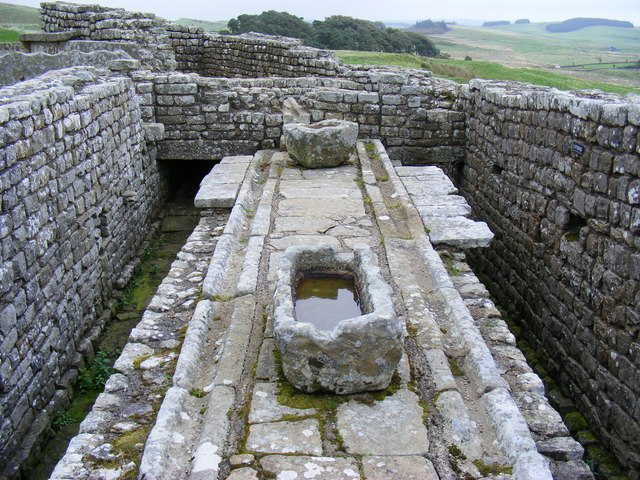 The Latrines at Housestead's Roman Fort