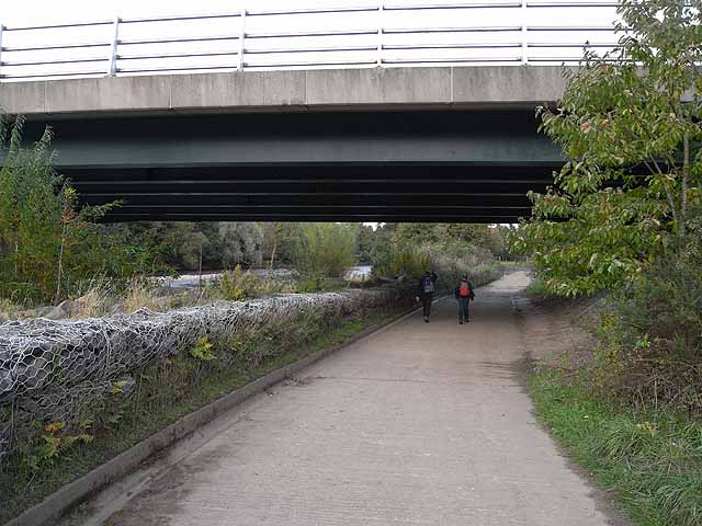 Underpass under the Haltwhistle By-pass
