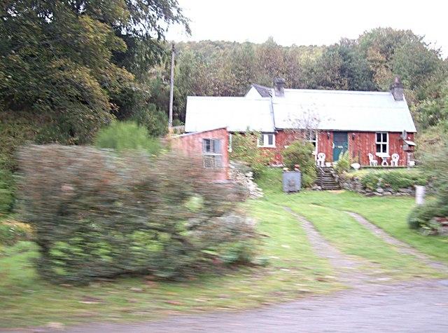 Knocknashalavaig cottage