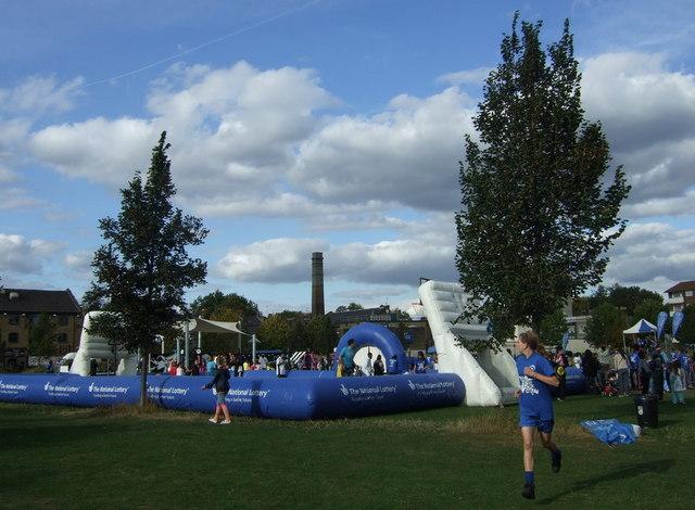Sportsday  on Wennington Green