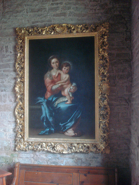 Painting in St Mary's Church