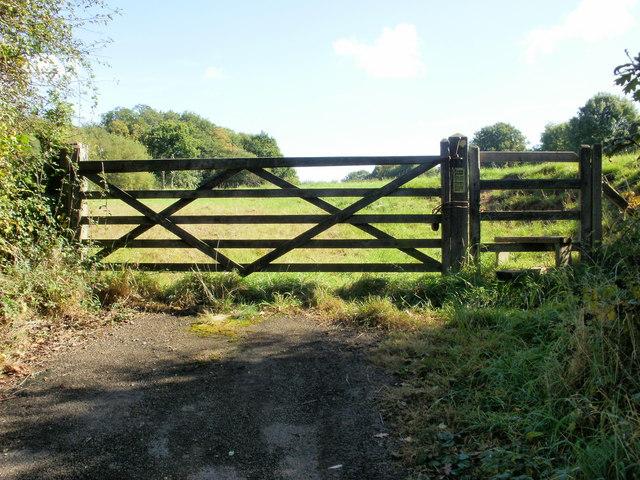 Field entrance, Llanfrechfa