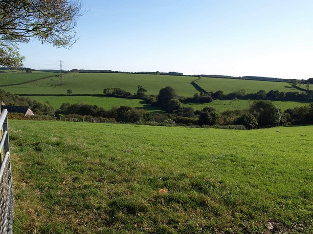Valley above Great Pethill Wood