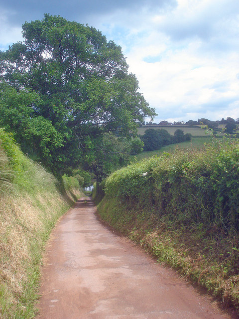 Lane to Pinford Farm