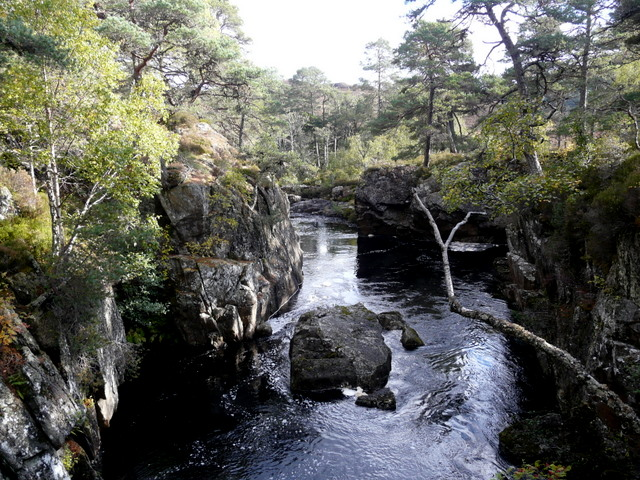 River Farrar from the Polcherian Bridge.