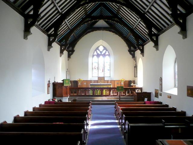 Penmon Priory Church - interior