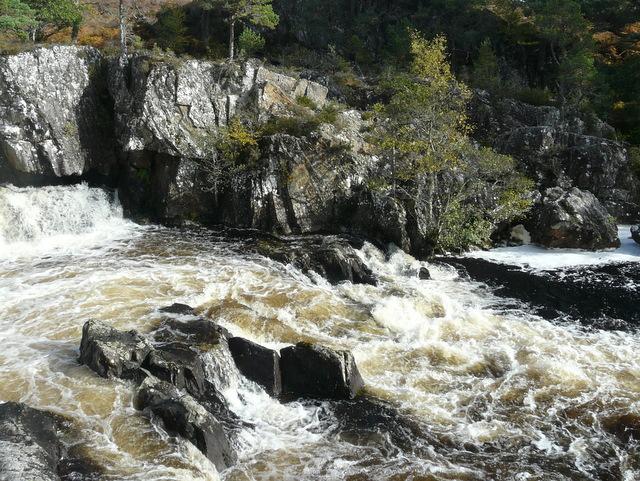 Fall on the River Farrar.