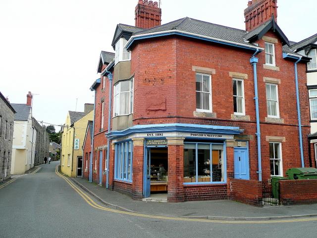 Roberts' Bakery, est. 1892, Beaumaris