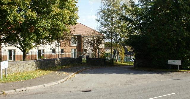 Entrance to Croesyceiliog Community Education Centre