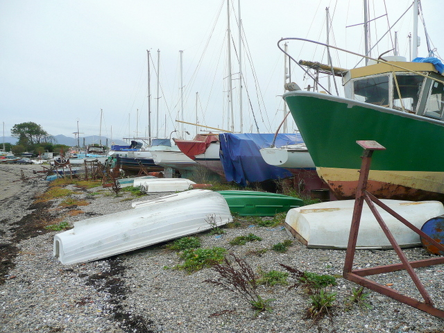 Yachts at Gallows Point 2