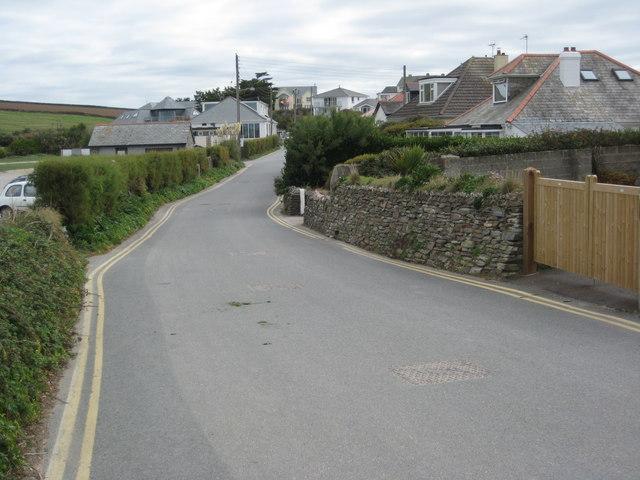 Road in Trevone