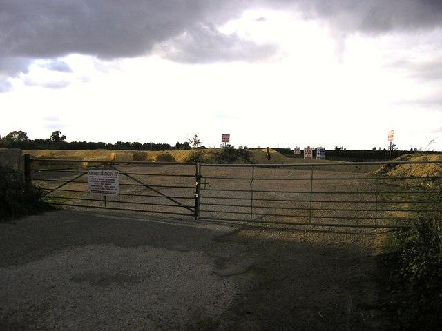 Greetham Quarry Entrance