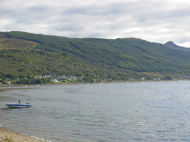 Strachur Bay on Loch Fyne