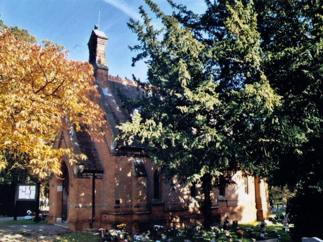 Bracknell Cemetery Chapel