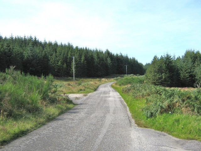 Unclassified road between Gatehouse Station and Creetown
