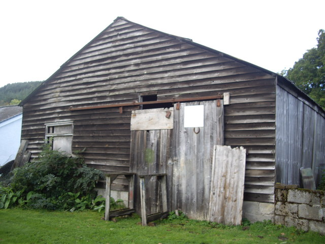 A shed in Struy