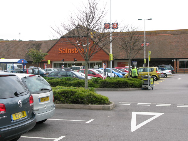 Superstore on the Park Farm shopping estate