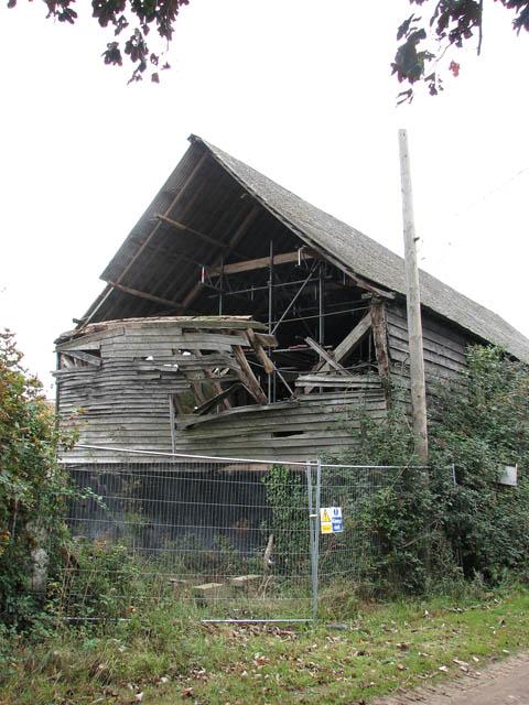 Renovating a derelict barn