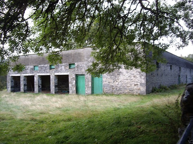 A large stone steading, Balmore