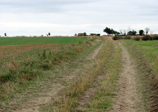 Public bridleway to Ashby St Mary