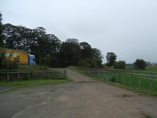Car park by the A66