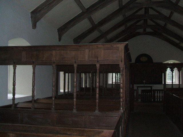 Pews in St. Ninian's Church
