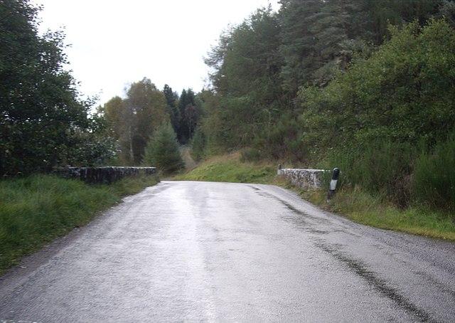 Bridge over the Allt Coillte