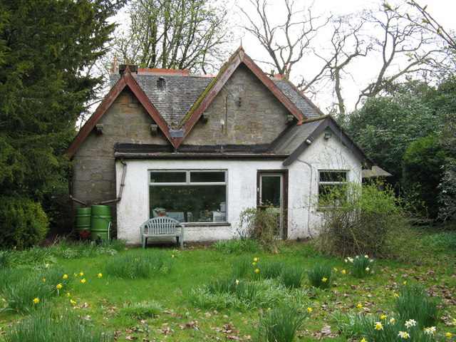 Edinbarnet Cottage (Rear)