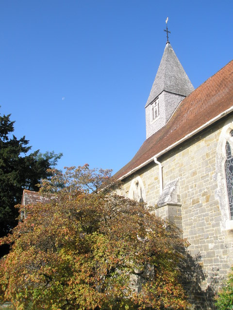 A glorious autumn morning at St Mary Magdalene