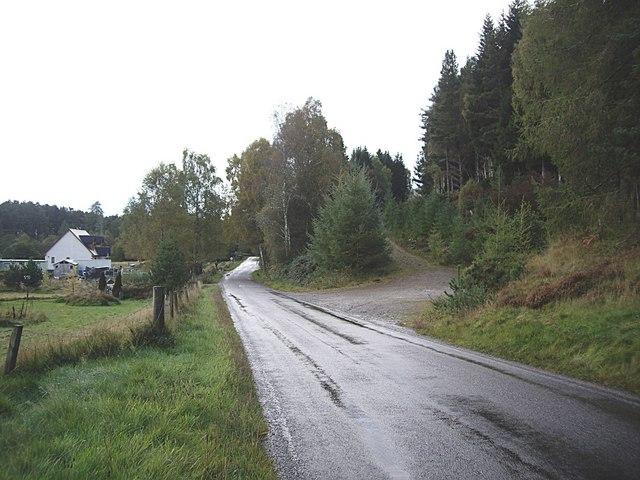 A831 approaching Cannich
