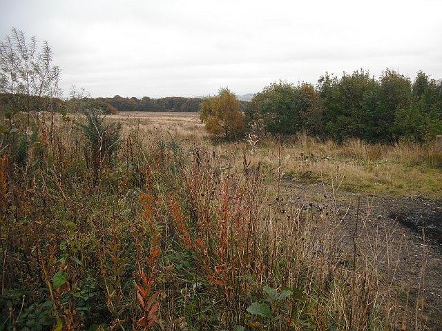 Open cast coal mine site