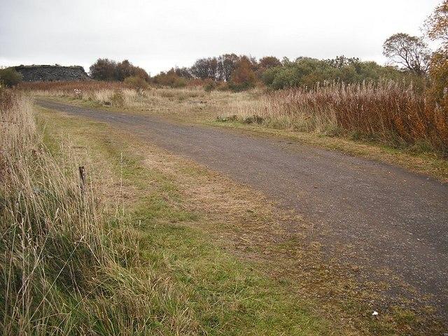 Peat workings, Gardrum Moss