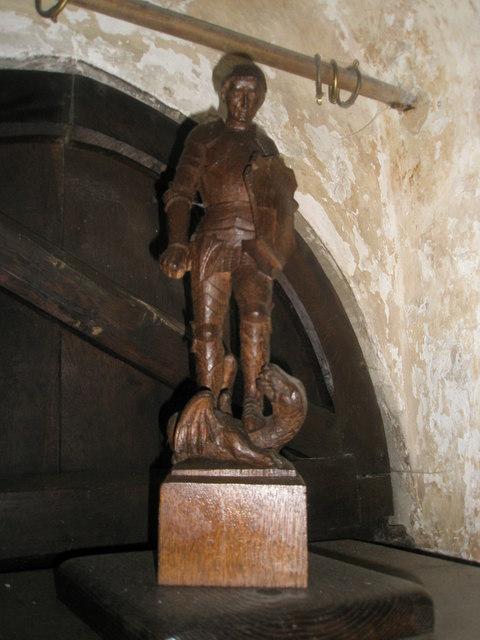 George and Dragon at Trotton parish church (3)