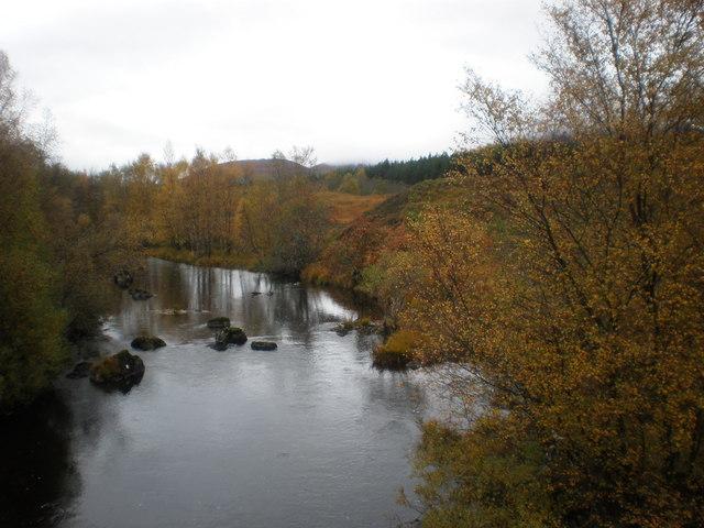 River Loyne in Autumn