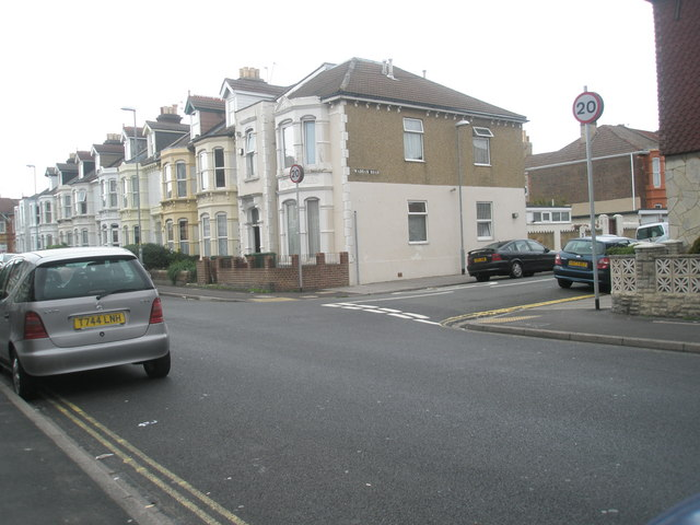 Junction of Gladys Avenue and Wadham Road